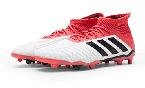 4d70350c6 adidas Kid's Predator 18.1 FG Soccer Cleat, 4.0 D(M) US, Footwear White/Core  Black/Real Coral: Amazon.ca: Shoes & Handbags