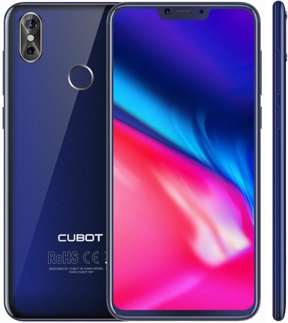 Cubot P20 4 G Smartphone sin Contrato , 4GB + 64GB Dual de Back de vigilancia, identificación de Huellas Dactilares ...