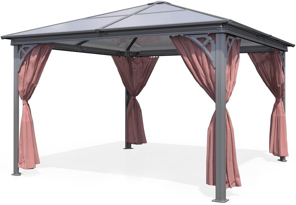 Aluminio jardín Carpa 3, 60 x 3, 60 m Carpa (Carpa: Amazon.es: Jardín
