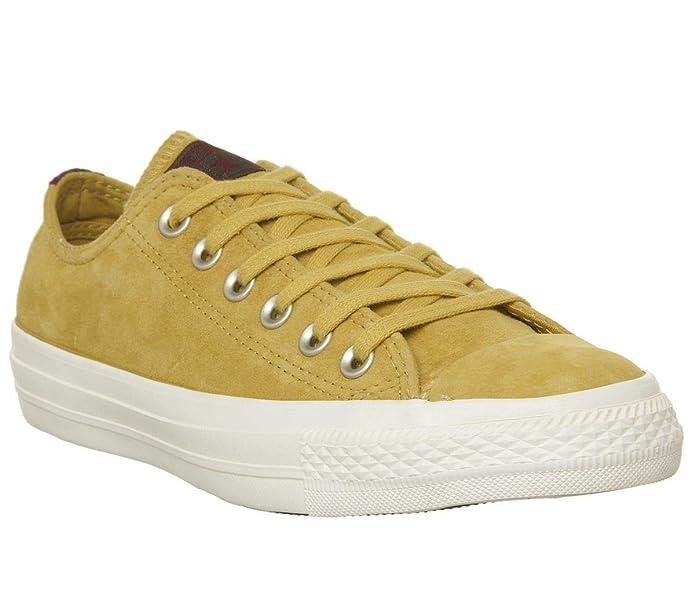 Converse Chucks Chuck Taylor All Star Low Top Sneaker Damen Herren Unisex Gelb (Desert Marigold)