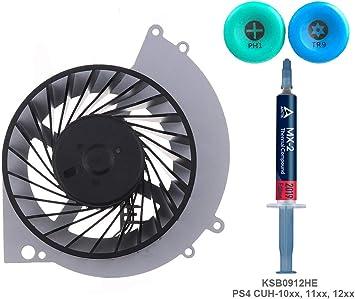 ElecGear Ventilador de Refrigeración para PS4 CUH-1xxx – Delta ...