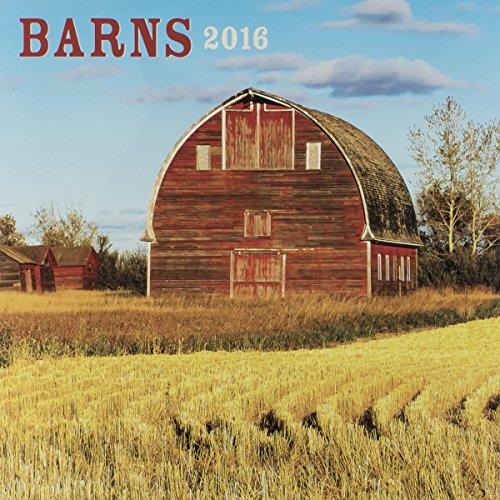 """DaySpring 12"""" x 12"""" 2016 12-Month Wall Calendar, Barns (74384)"""