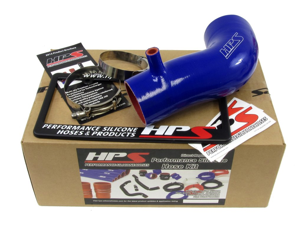 HPS 17838-BLUE Blue Silicone Air Intake Hose (Post MAF Tube) by HPS (Image #2)