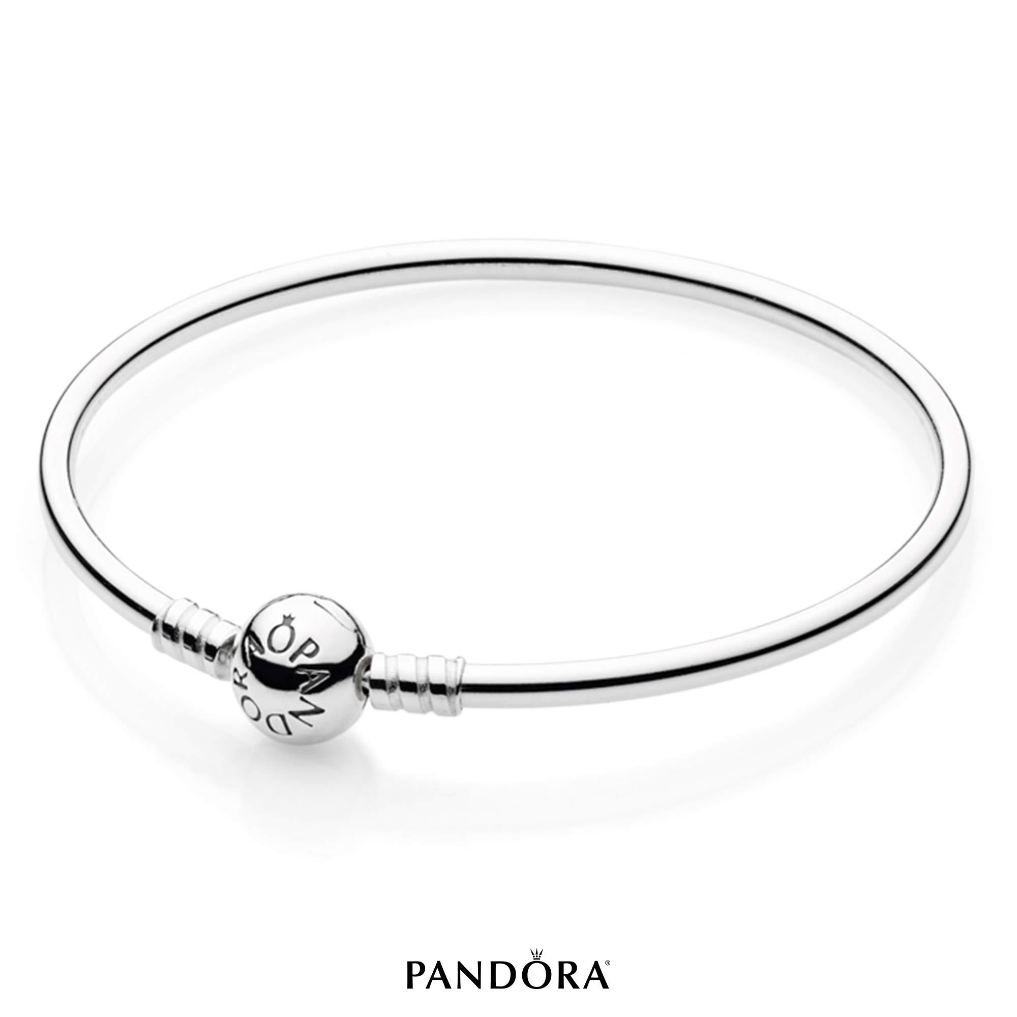 PANDORA Sterling Silver Bangle Bracelet, 7.5 in by PANDORA