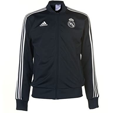 adidas Real Madrid Polyester Jacket Chaqueta, Hombre