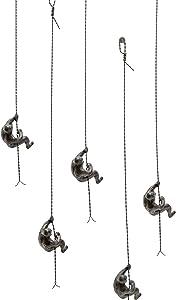 Global Views Climbing Man Wall Sculpture (One Count)
