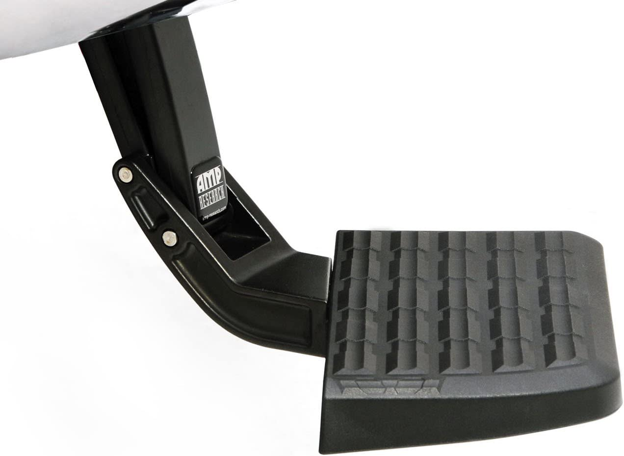 AMP Research 75322-01A BedStep Retractable Bumper Step for 2019 Ram 1500, 1 Pack