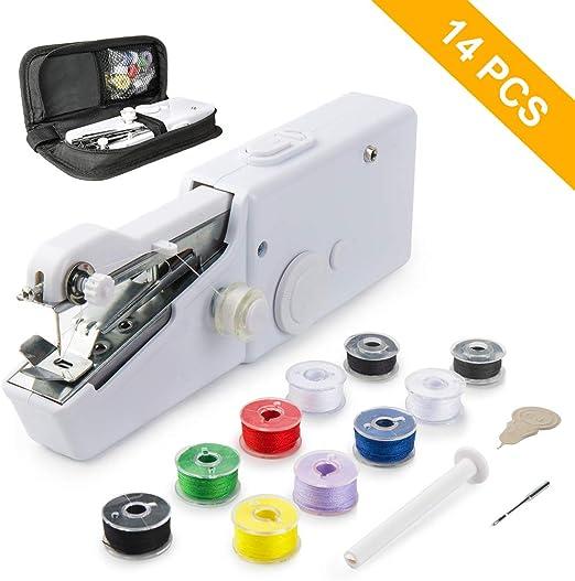 Mini Máquina de Coser Manual Portátil, Mini Herramienta de Costura ...