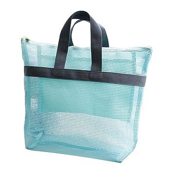 Xuxuou Bolsas de Playa Transparente Bolsa de Almacenamiento ...