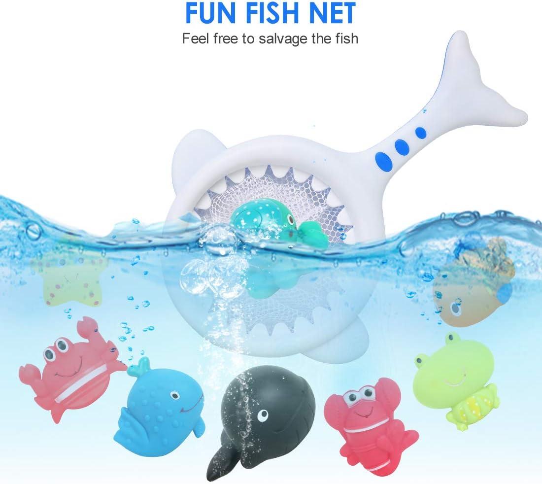 Rosado Juegos de Agua para Ni/ños Ni/ñas FORMIZON Juguete de Pesca Juguetes Ba/ñera Juguetes Piscina para Ni/ños Juguetes de Pesca con M/úsica Juguetes de Ba/ño Bebe