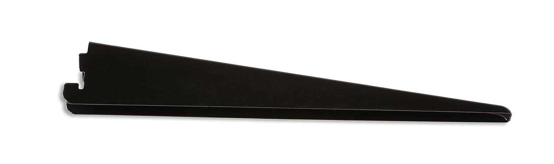 "Rubbermaid Twin Track System Bracket, 11.5"", Black (FG4C0502BLA)"