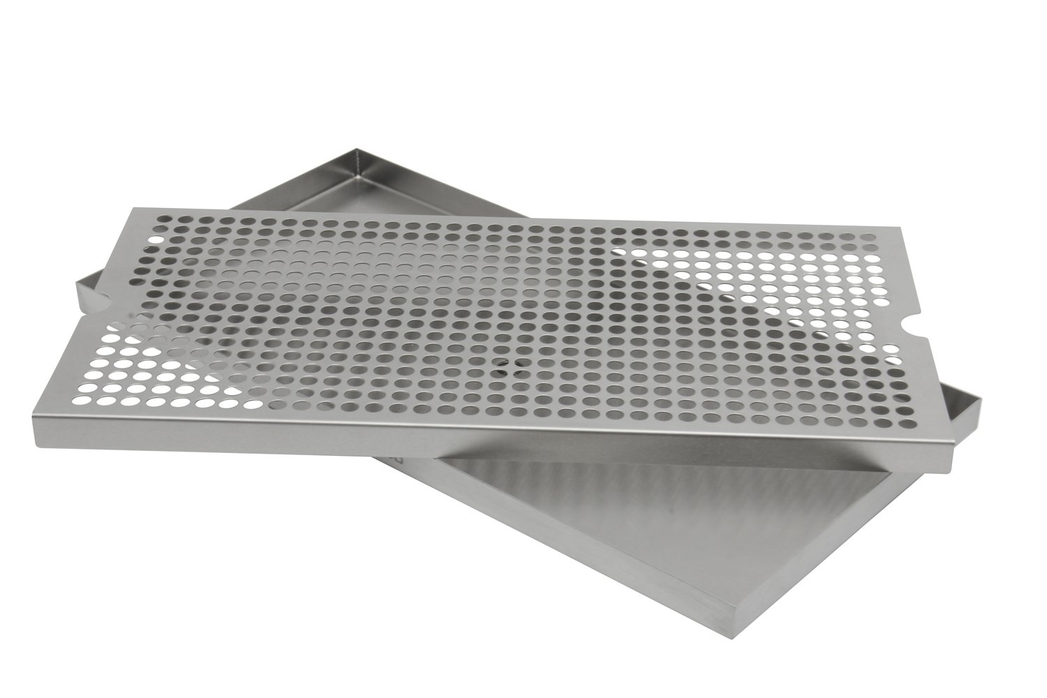 Kegco SESM-189D 18'' x 9'' Surface Mount Drip Tray with Drain by Kegco (Image #2)