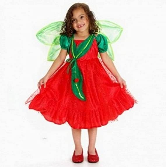 Buy Princess Paradise Girls Designer Cherry Fairy Wing Halloween Costume Set Small Online At Low Prices In India Amazon In