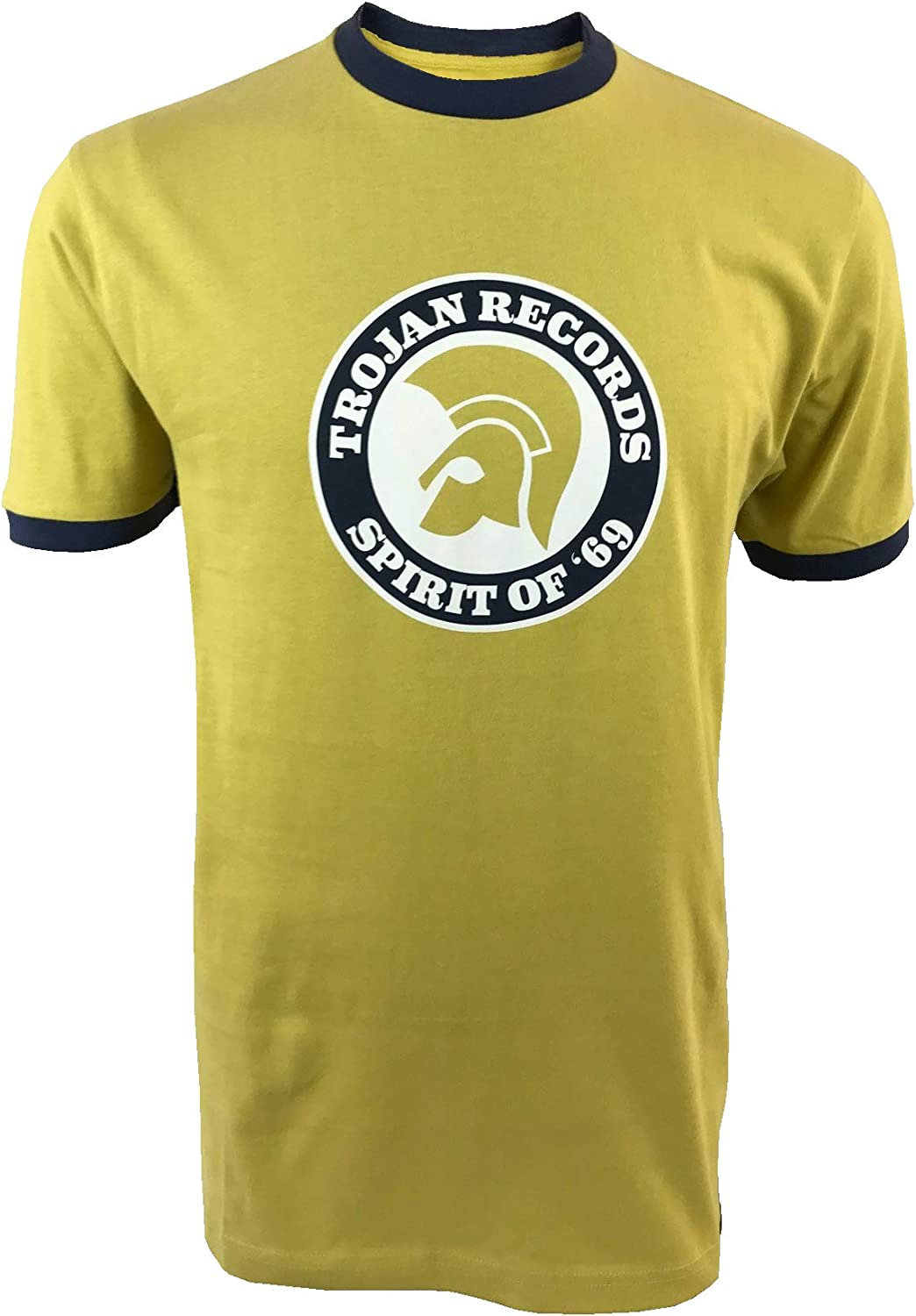 Trojan Spirit of 69 Camiseta con Logo TC/1006 Pistachio: Amazon ...