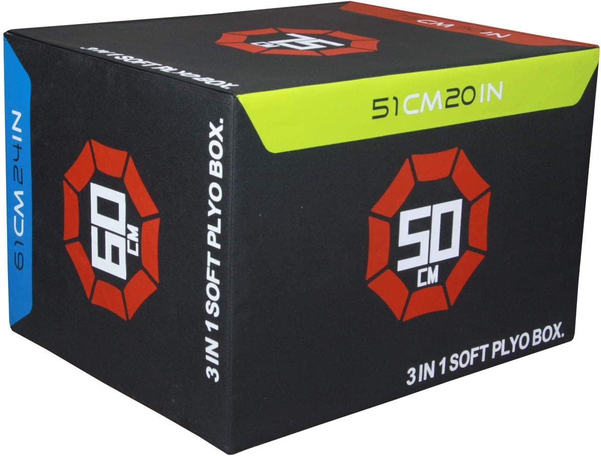 Fitness First 3 in 1 Soft Plyo Box