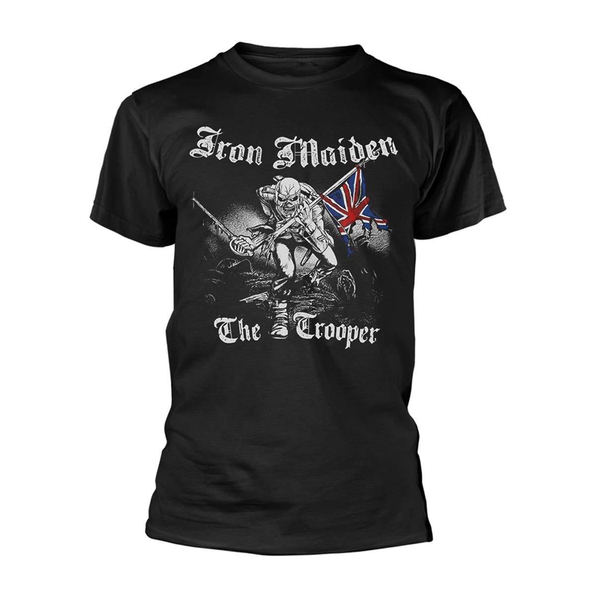 T-Shirt Sketched Trooper: Iron Maiden: Amazon.es: Música