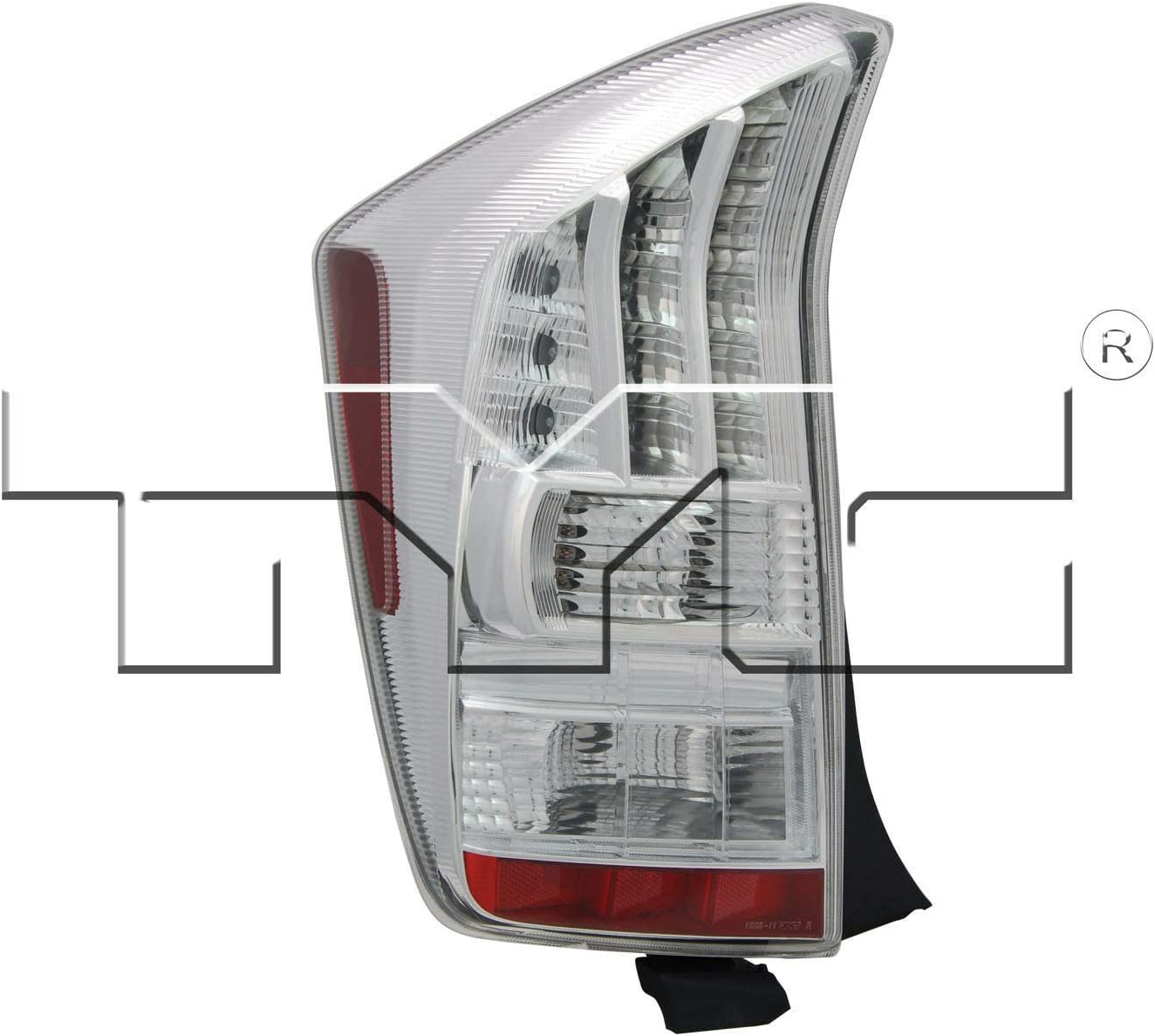 TYC 11-6332-01-1 Compatible with TOYOTA Prius Left Replacement Tail Lamp