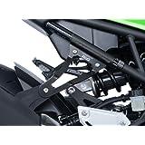 Pata de fijación Silencioso Kawasaki 900 Z negro RG Racing