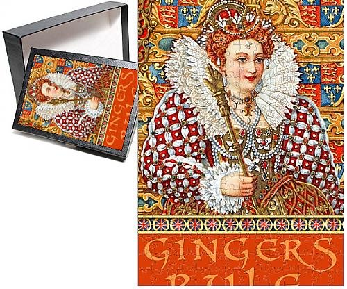 Photo Jigsaw Puzzle of Queen Elizabeth I - Gingers Rule