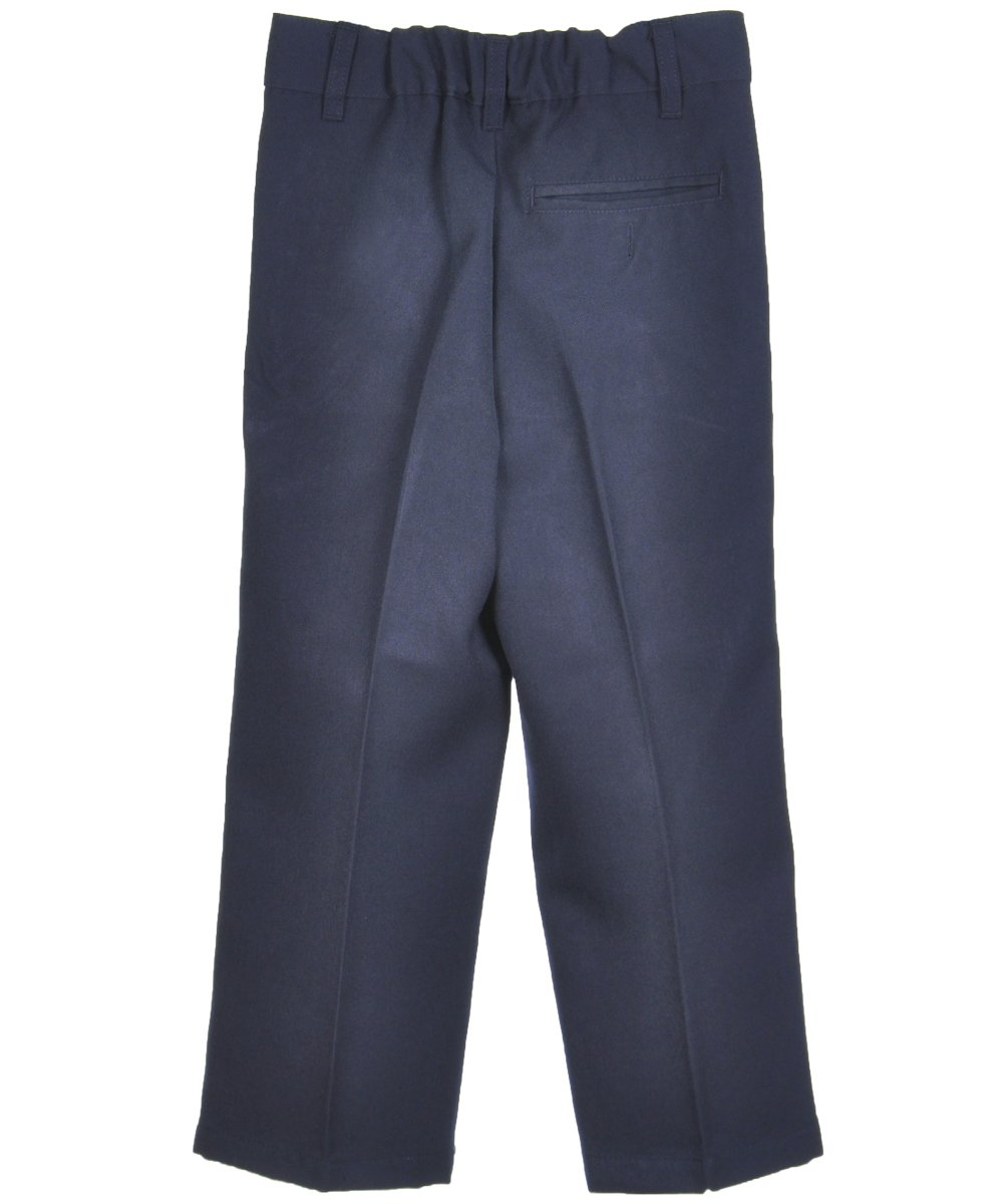 French Toast Little Boys' ''All Season'' Pleated Pants - navy, 5