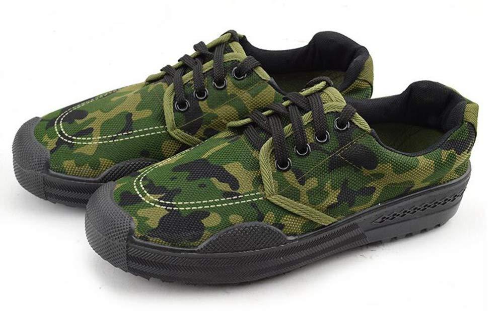 - QIAO Chaussures de libération de l'assurance du Travail pour Hommes et Femmes, Chaussures d'entraînement pour l'entraînement en Plein air Militaire, vêtements antidérapants Absorption des Chocs,A,36