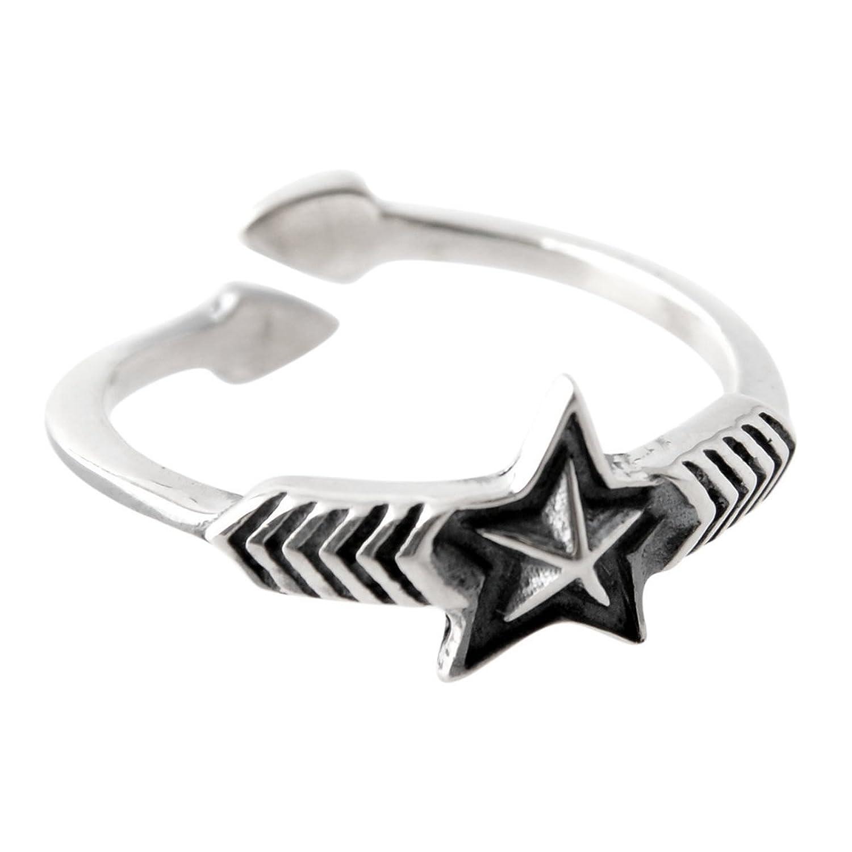 [コディー サンダーソン] CODY SANDERSON Double Arrow Small Star Ring ダブルアロー スモールスター リング
