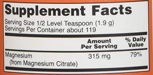 PSA: Your Magnesium Citrate might actually be Trimagnesium