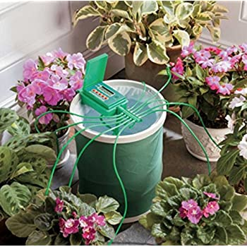 Amazon Com Automatic Plant Drip Watering System With