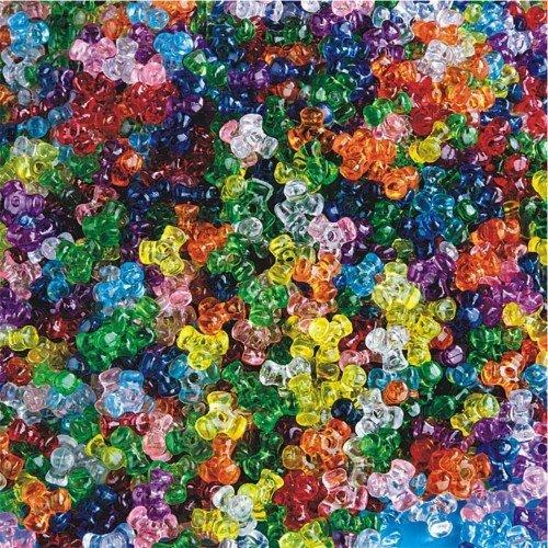 Transparent Tri-Beads 1 lb. Bag