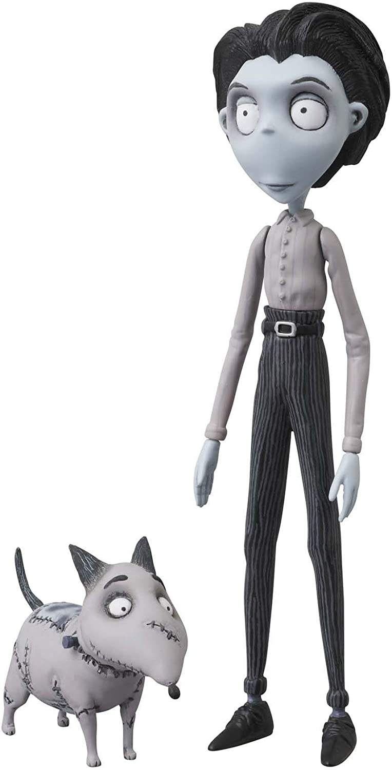 Amazon Com Medicom Toy Corporation Frankenweenie Udf Victor And Sparky Action Figure 2 Pack Toys Games