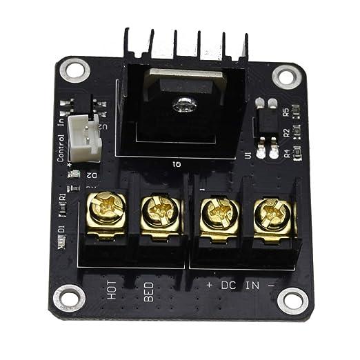 Yardwe Módulo MOSFET de la Impresora 3D Módulo de energía de ...