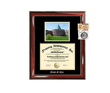 Amazon.com: Marco de diploma Big Chicago Estatal Universidad ...