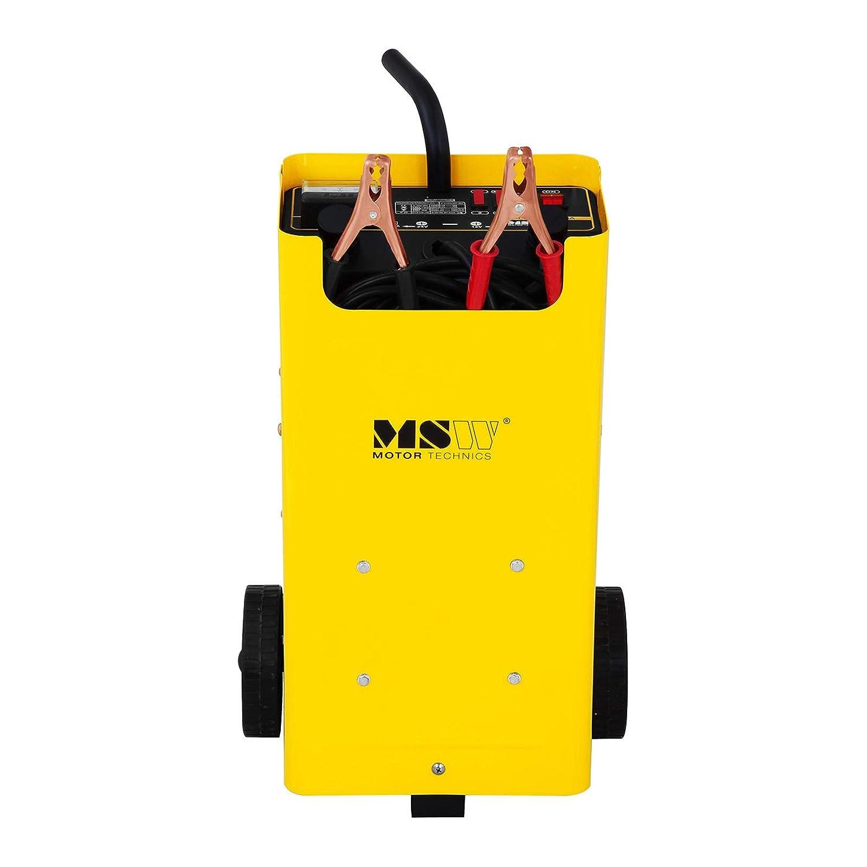 MSW Cargador de batería Coche S-CHARGER-45A (Ayuda de Inicio, 12 ...