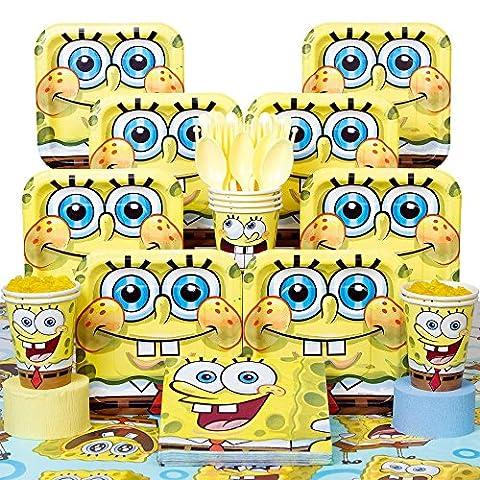 Spongebob Deluxe Kit Serves 8 Guests