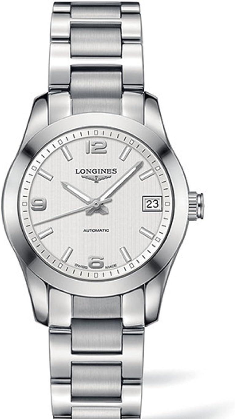 Longines Conquest L23854766 - Reloj automático para mujer