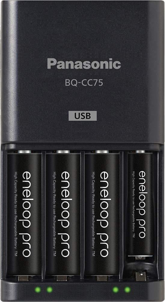 Amazon.com: Panasonic K-KJ75KHC4BA Cargador de batería ...