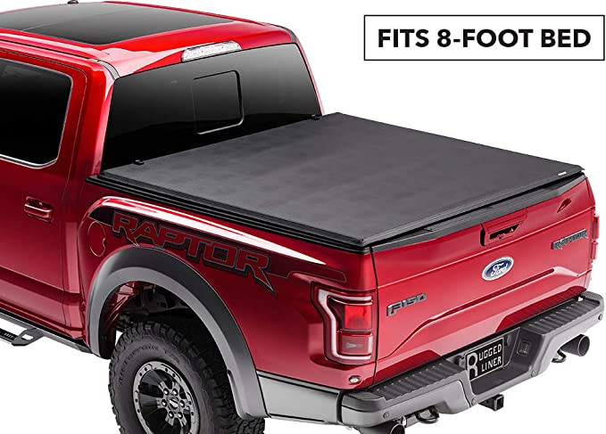 Fits 8 Bed F-450 Tonno Pro Tonno Fold 42-303 TRI-FOLD Truck Bed Tonneau Cover 1999-2018 Ford F-250 F-350