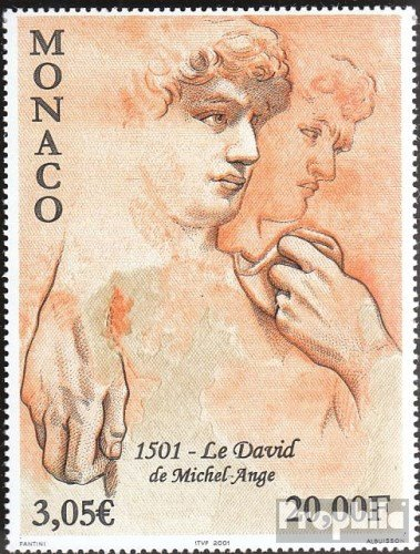 Monaco 2561 (Complete.Issue.) 2001 Michelangelo (Stamps for Collectors) Painting