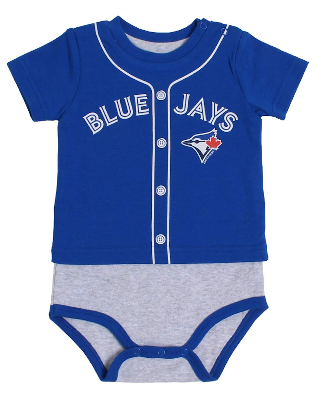 MLB Toronto Blue Jays Toddler T-Shirt Body Suit Set 6 Months