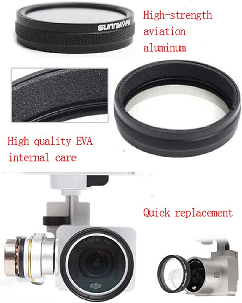 CZFRIEND Camera Lens Filter Accessories Setfor DJI Phantom 3//4 Drone Quadcopter