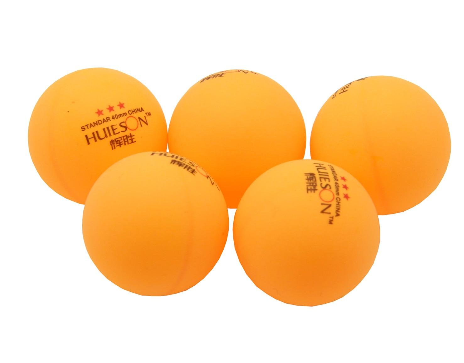 Ben Sports 30-pack 50-pack 100-pack 3-Star 40mm Balles de tennis de table, la formation avancée Ping-pong (pratique de ping-pong)