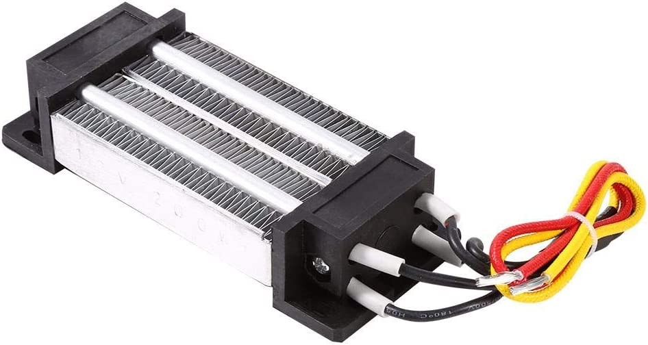 100W 12//24V Insulated Electric Ceramic Thermostatic PTC Heat Element Air Heater