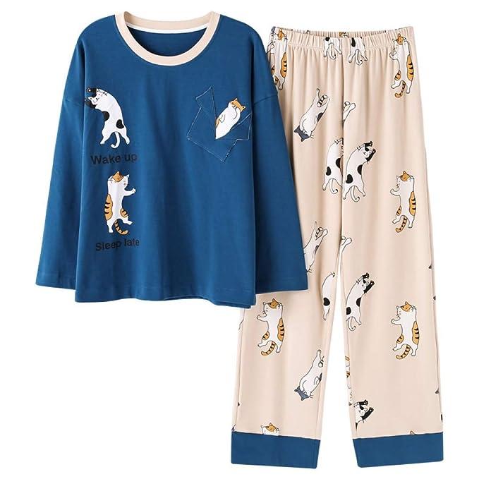 MEIXIA Batas Ropa De Dormir Conjuntos De Pijamas Pijamas ...