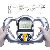 ZUZU Cuerpo Salud Monitor Digital LCD Grasa analizador BMI medidor de Peso pérdida Tester calculadora de calorías Herramientas de medición