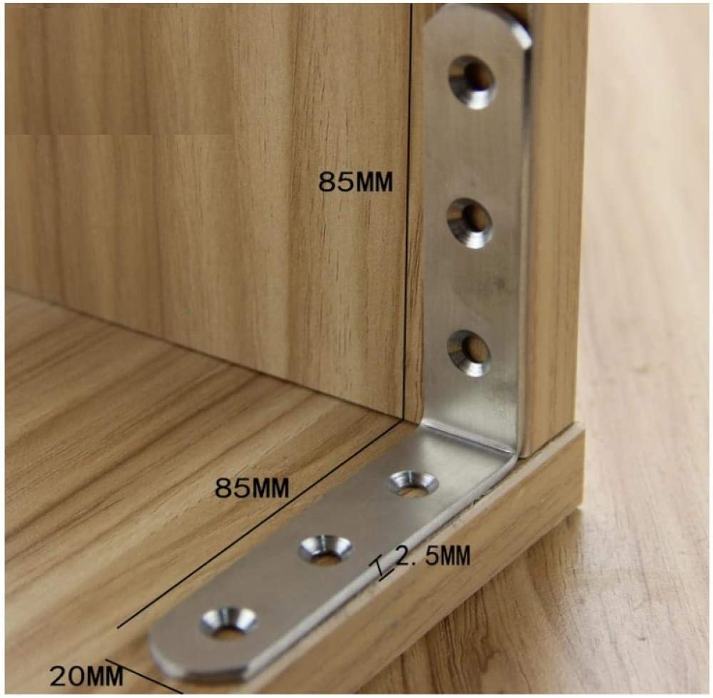 Stainless Steel Angle L-Shaped Fixed Parts Right-Angle Furniture Hardware Accessories