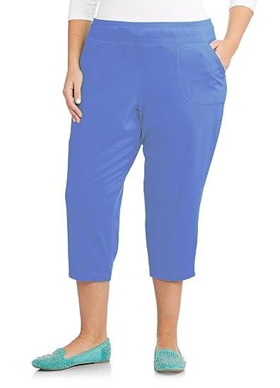 190b5b06abbf Just My Size French Terry Women's Pocket Capri Pants at Amazon Women's  Clothing store: