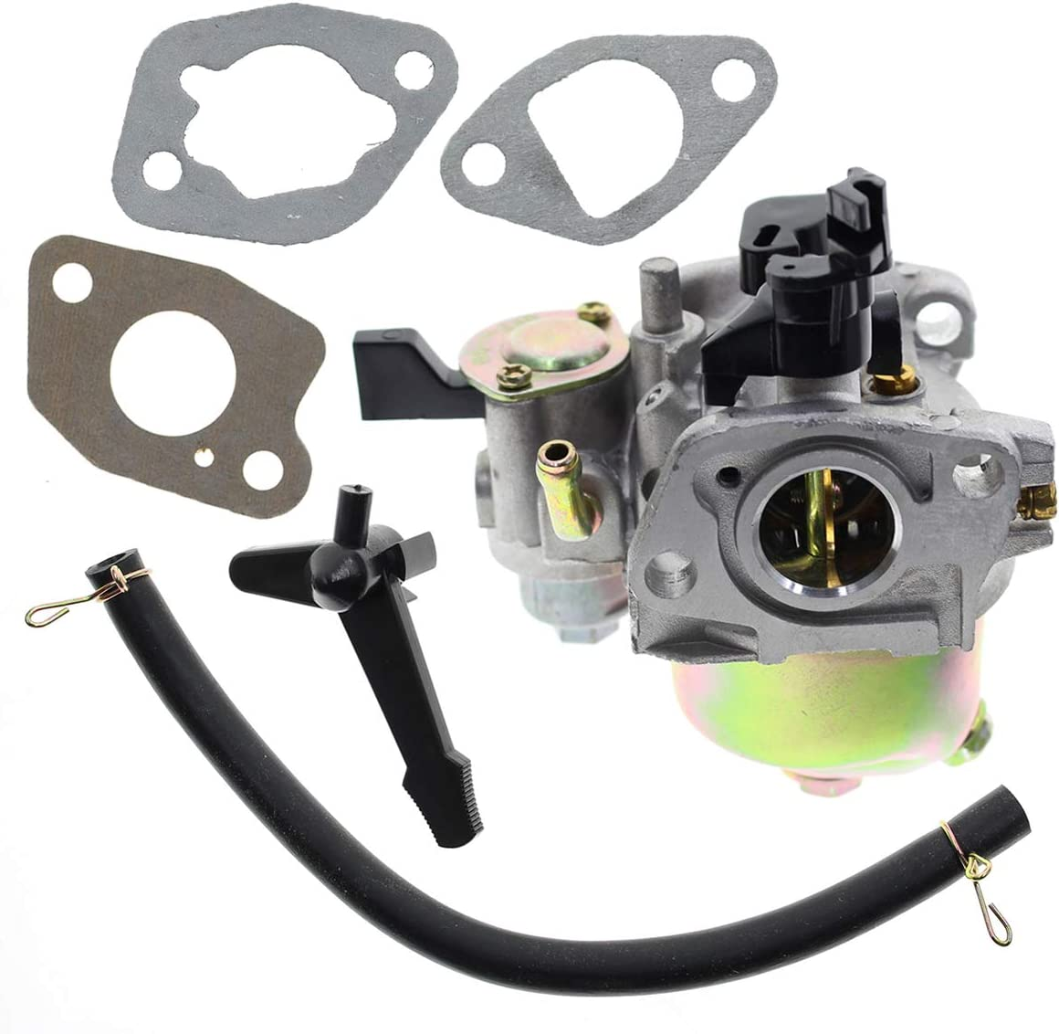 MOTOALL Carburetor w/Gaskets for Honda 6.5 HP Engine Harbor Freight Predator 212cc 16100-ZLO-W51 16100-ZH8-W61