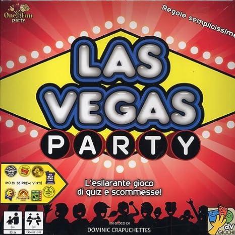 Da Vinci Las Vegas Party - Juego de Mesa (versión en Italiano ...