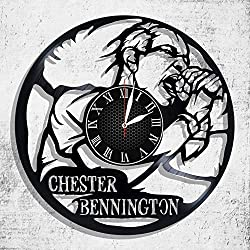 Chester Bennington record wall clock,Chester Bennington Gift For Every Occasion