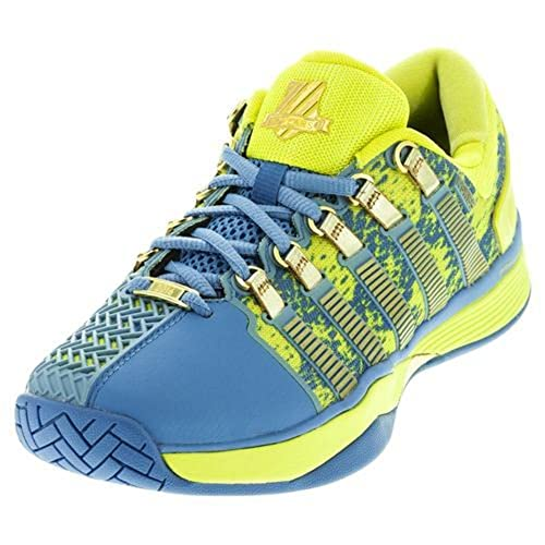 K-swiss Para Dama hypercourt 50th-w Zapato Tenis - 50/ Ultramarino/ AZUFRE Resorte/ORO, 4.5 F UK: Amazon.es: Zapatos y complementos